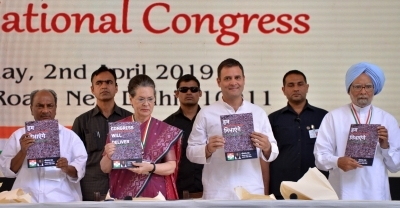 Congress unveils manifesto, focuses on war on poverty