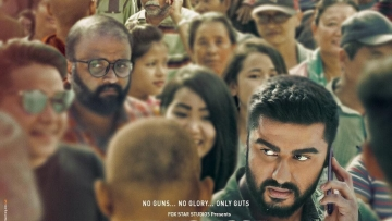 Arjun Kapoor in <i>India's Most Wanted</i>.