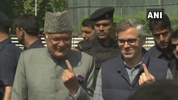 Barring the Sonawar Assembly segment, where former chief ministers Farooq Abdullah and Omar cast their votes, all other seven Assembly seats recorded a single digit voting percentage.