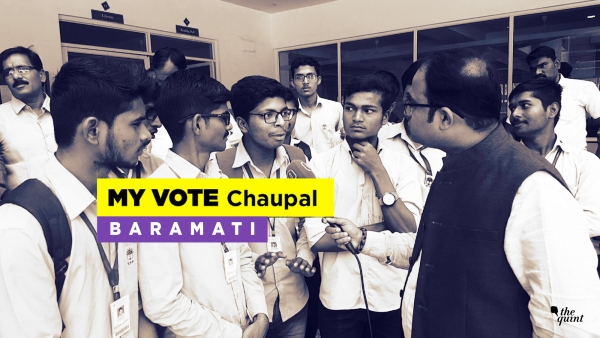 The Quint reached NCP chief Sharad Pawar's constituency Baramati to find what issues they keep in mind while voting.