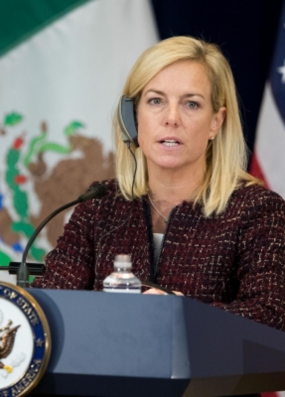 Trump says DHS Secretary Nielsen leaving