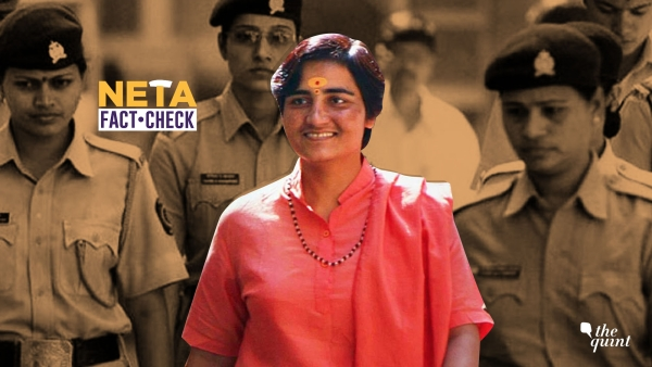 No, Sadhvi Pragya Has NOT Been Acquitted of All Terror Charges