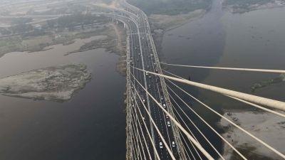 Biker Dies As Loose Wire On Delhi's Signature Bridge Pierces Chest
