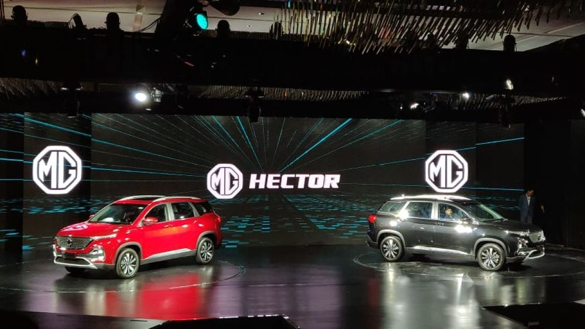 MG Hector SUV Unveiled in India, Price Announcement in June 2019: MG