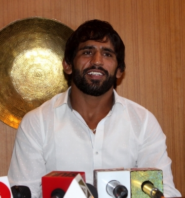 Will continue to do my best: Bajrang Punia