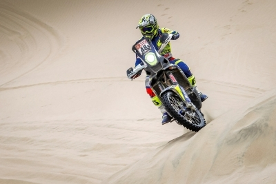 TVS Racing's Metge wins two stages at Desert Storm