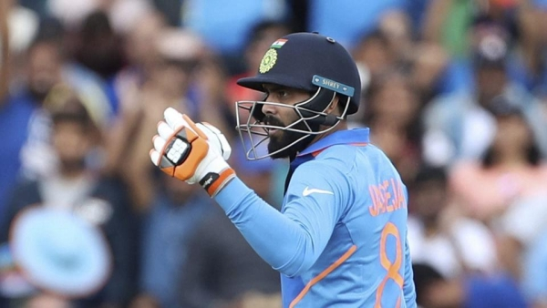 Jadeja scored 54 off 50 balls for India against New Zealand.