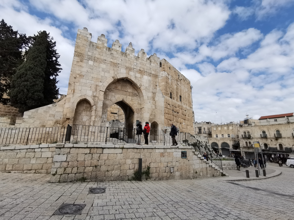 Tower of David museum, an important site during the Crusades that now houses a museum.