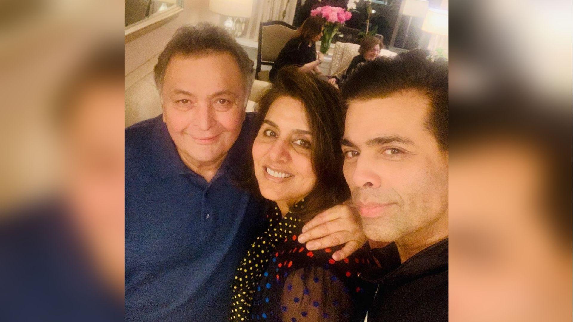 Strong, Resilient: Karan Johar Meets Rishi Kapoor in New York