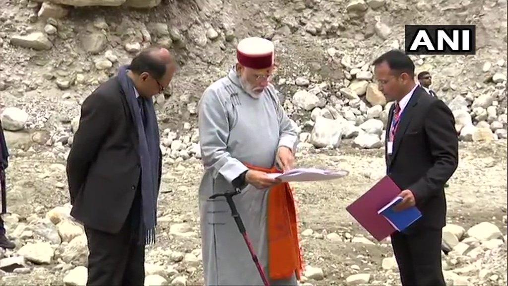 PM Modi In Kedarnath As EC Reminds PMO About Model Code of Conduct
