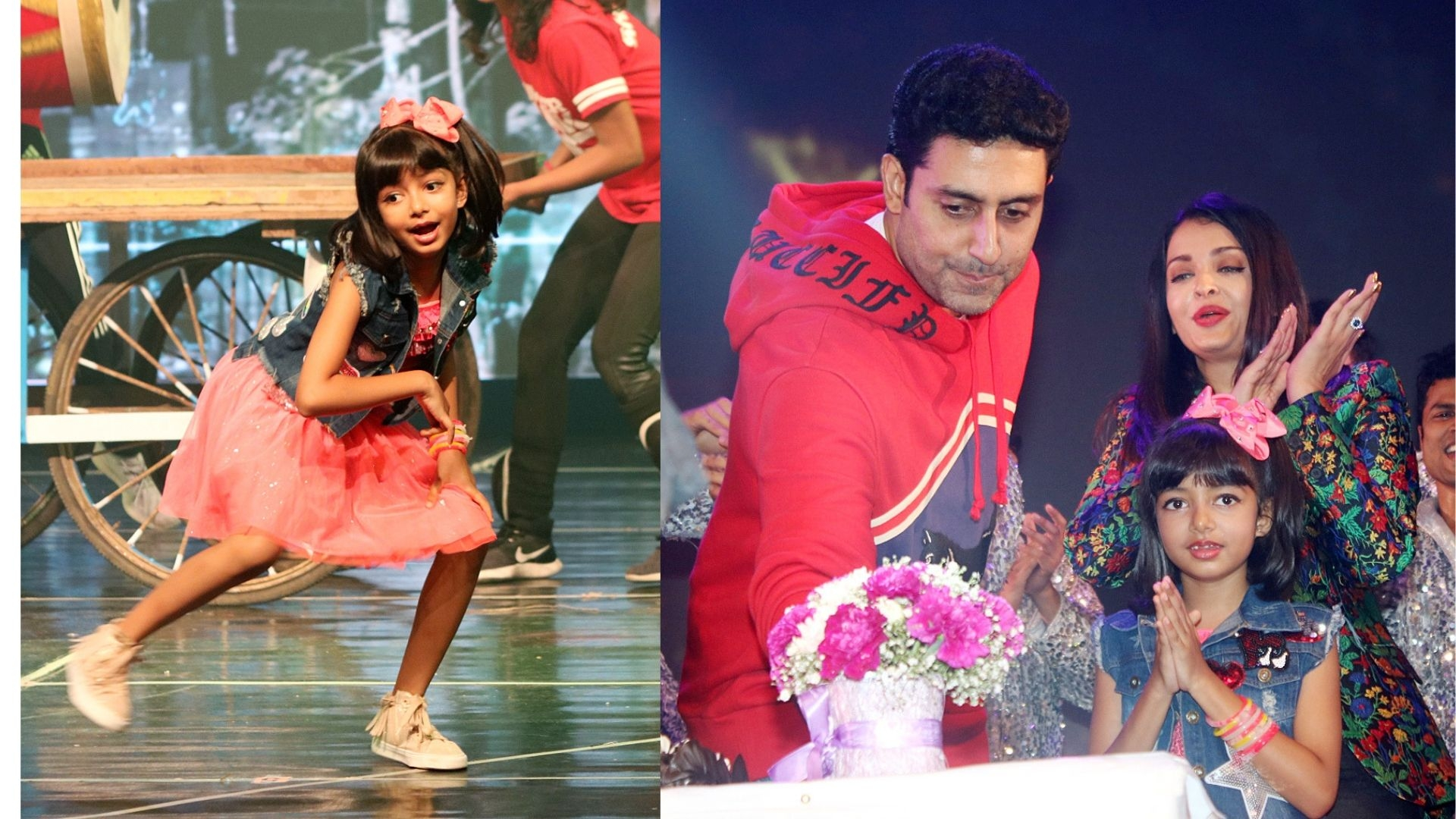 Abhishek, Aishwarya Watch Aaradhya Bachchan's Dance Performance