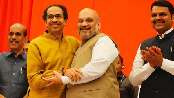 Shiv Sena- BJP alliance win big in Maharashtra.