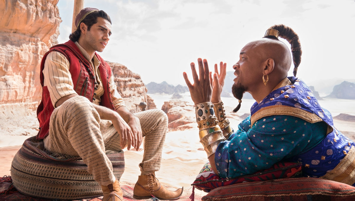 Will Smith Adds a Bollywood Touch to 'Aladdin'
