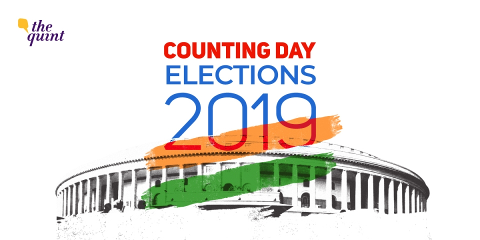 the lok sabha 2019 election results were declared on 23 may 2019