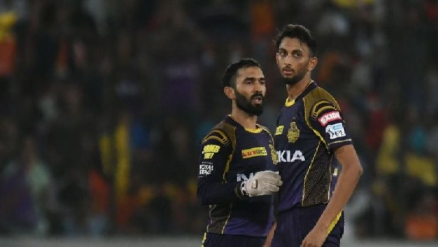 Krishna picked up just 4 wickets for KKR this season.