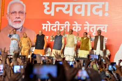 Final tally: BJP registers a thumping victory with 303 seats