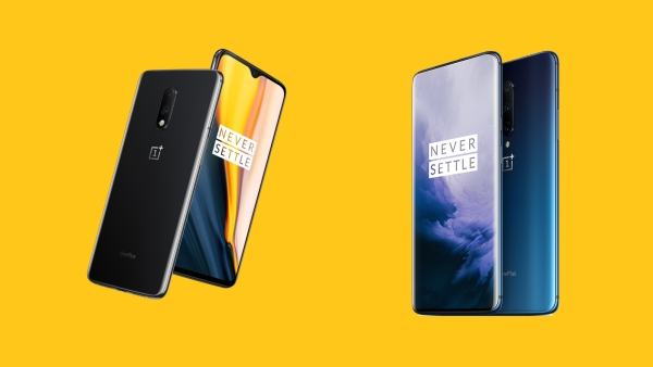 OnePlus 7 (left) and OnePlus 7 Pro (right)