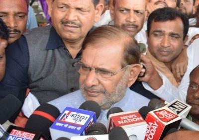 All exit polls wrong, far from truth: Sharad Yadav