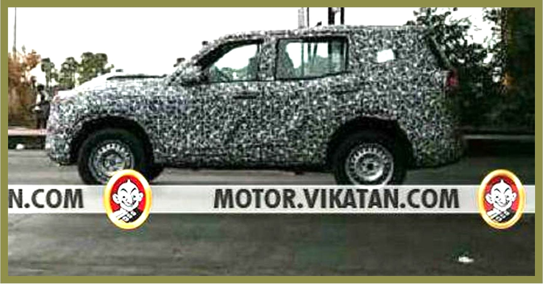 2020 All-New Mahindra Scorpio Spied Testing, Gets New Design