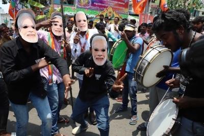 BJP leading in Lok Sabha, BJD in Assembly in Odisha