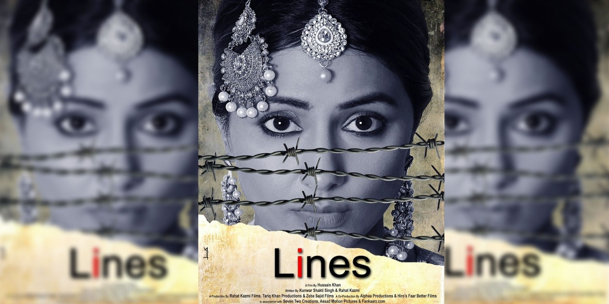 Hina Khan Unveils Her Debut Film Lines' Poster at Cannes 2019