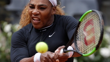 The next tournament on Serena's schedule is Roland Garros, which starts in less than two weeks.