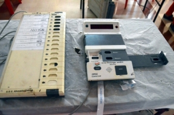 Electronic Voting Machines. (File Photo: IANS)