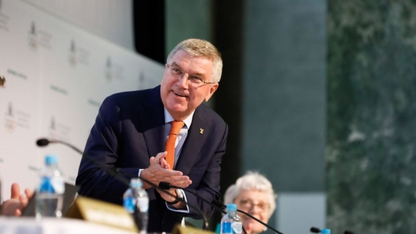 File image of IOC chairman Thomas Bach.