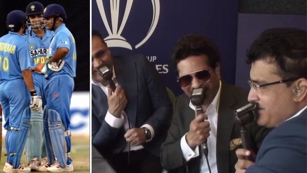 Sehwag, Sachin and Ganguly were together in the commentary box on Thursday during England - South Africa match.