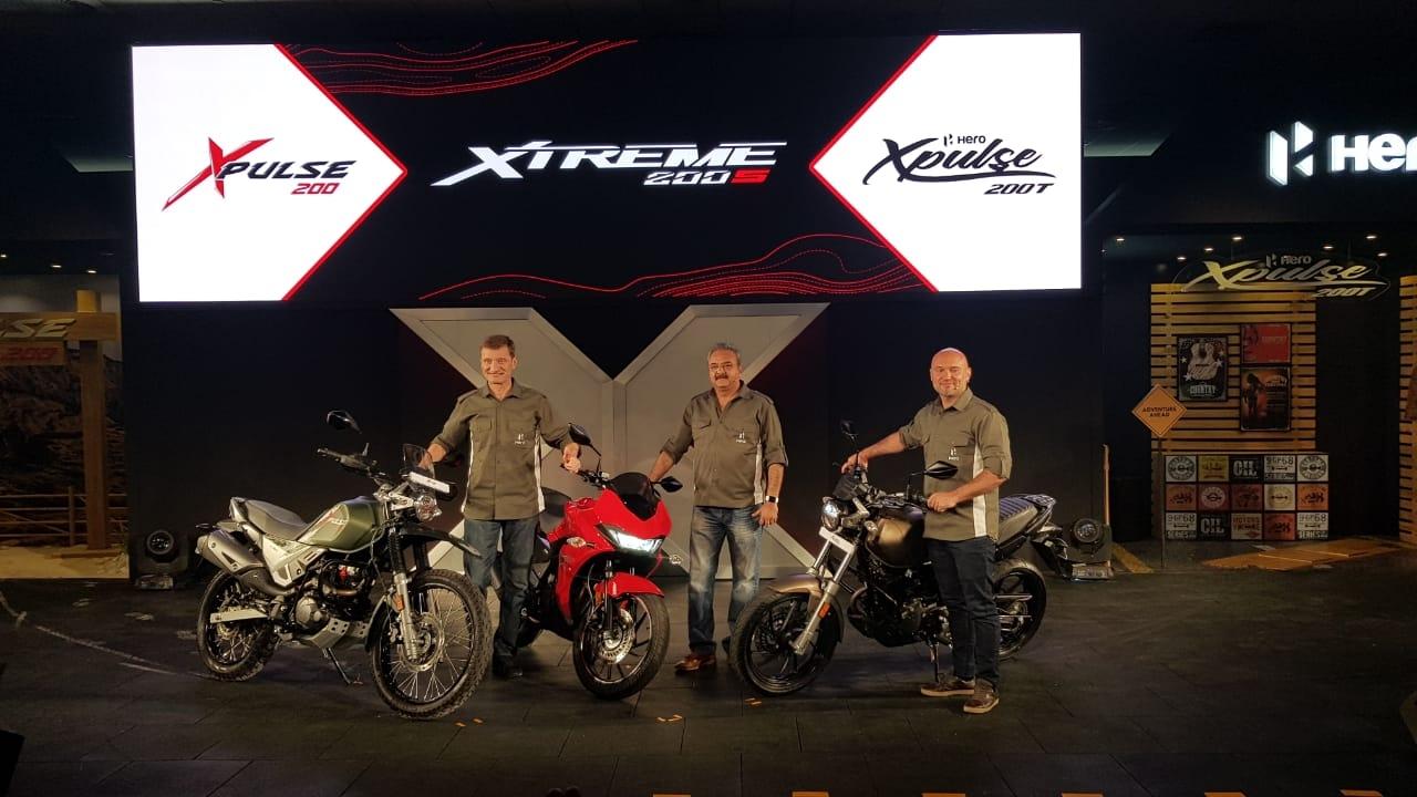 Hero MotoCorp Refreshes Line Up With XPulse & Xtreme 200S Bikes