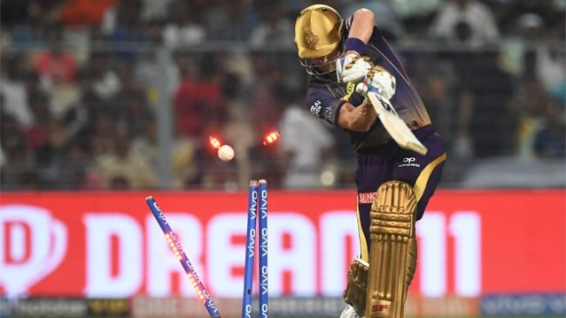Denly was out for a duck in his debut match for Kolkata Knight Riders.