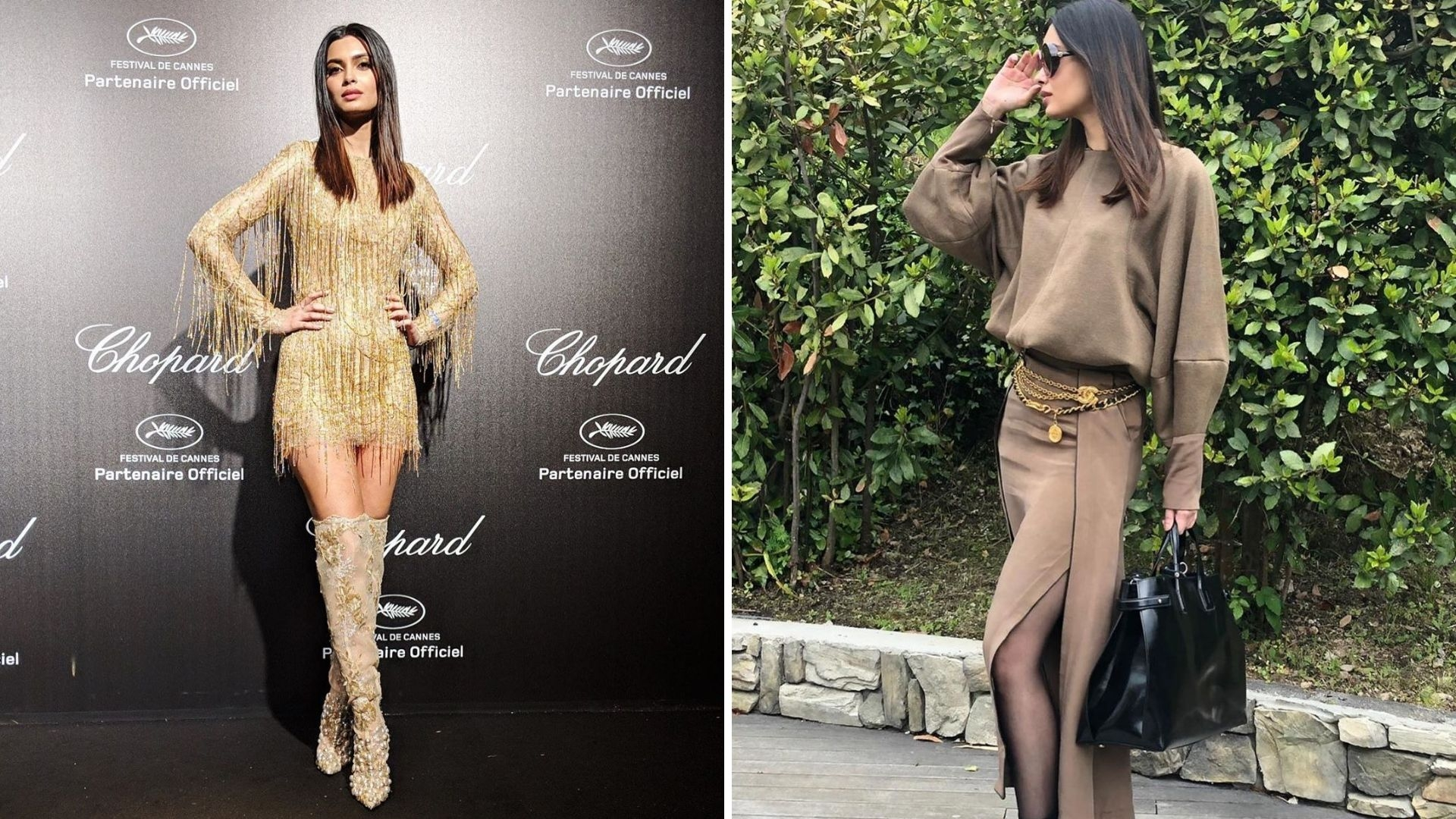Pics: Diana Penty's Shimmering Cannes Debut at the Chopard Party