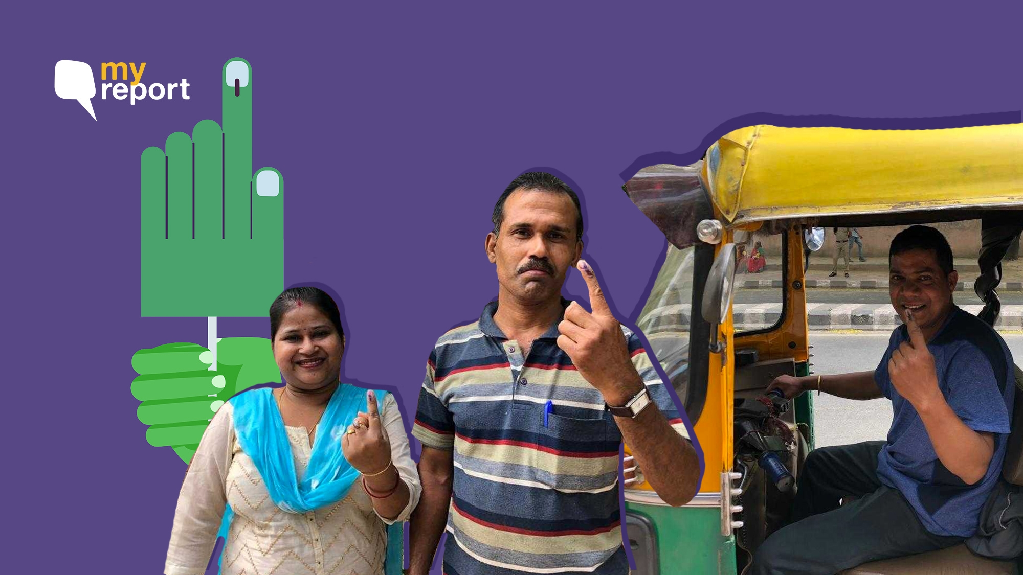 With Sixth Phase of Voting Underway, Delhiites Share Their Inkfies