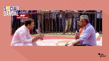 Rahul Gandhi took a dig at Modi's latest 'scripted' interview.