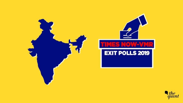 Times Now-VMR Exit Poll Predicts NDA's Sweep in Hindi Heartland