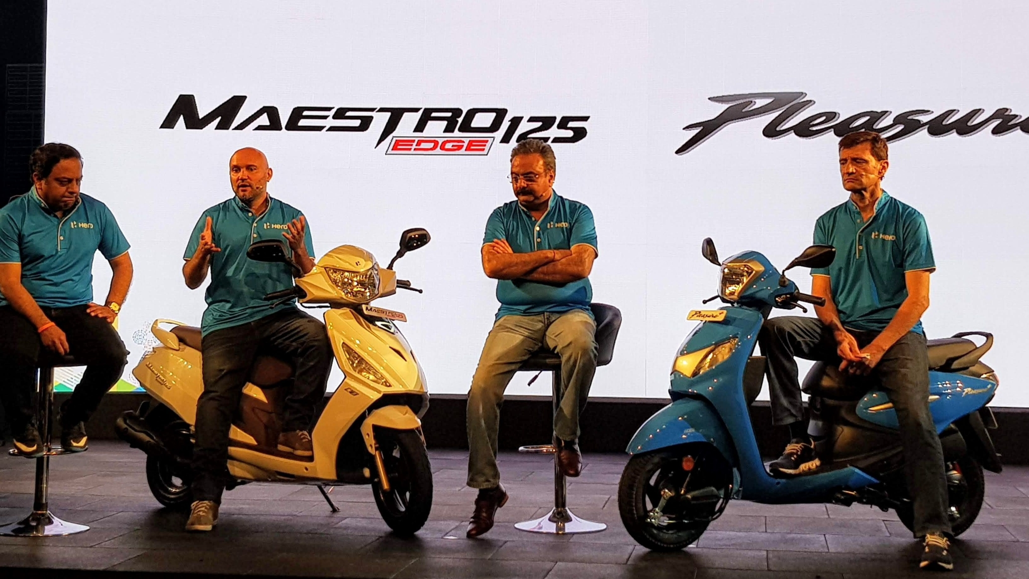 Hero Launches Updated Maestro Edge 125 and Pleasure+ Scooters