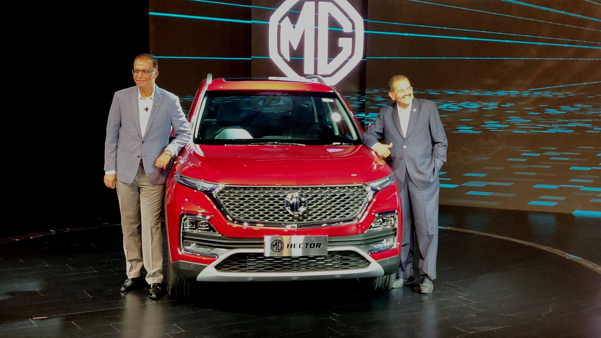 MG Hector SUV Officially Unveiled in India, Comes in Four Variants