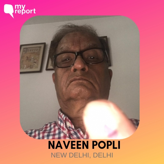 Naveen Popli shares an 'inkfie' with us.