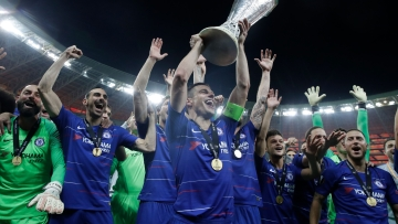 Chelsea's victory also ensured that Maurizio Sarri got the first trophy of his managerial career.