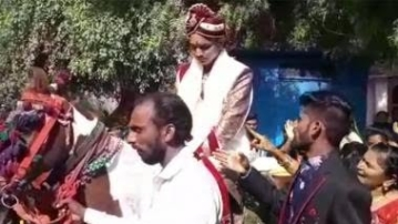 The privileged caste members of Lhor village in Kadi taluka were allegedly unhappy with the groom's move of riding the horse.
