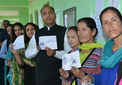 Nearly 13% polling in Himachal