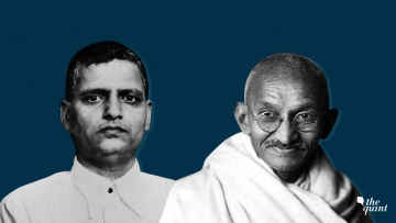 Image of Gandhi (R) and Godse (his assassin), used for representational purposes.