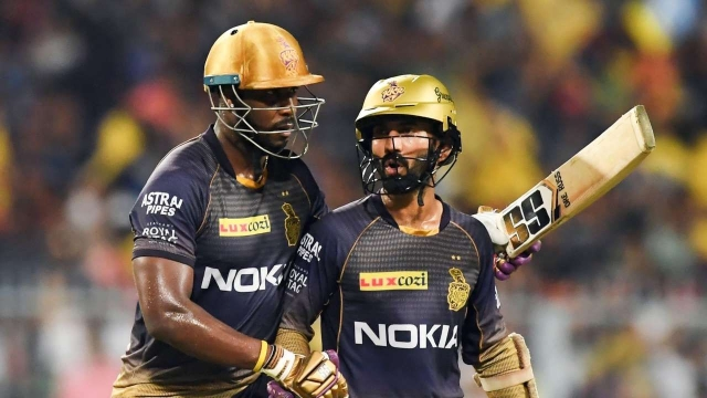 There were talks of differences between Dinesh Karthik and Andre Russell in IPL 2019.