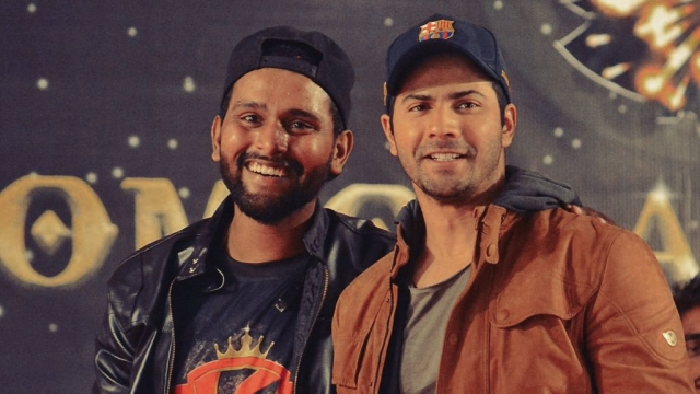 Suresh Mukund and Varun Dhawan together.
