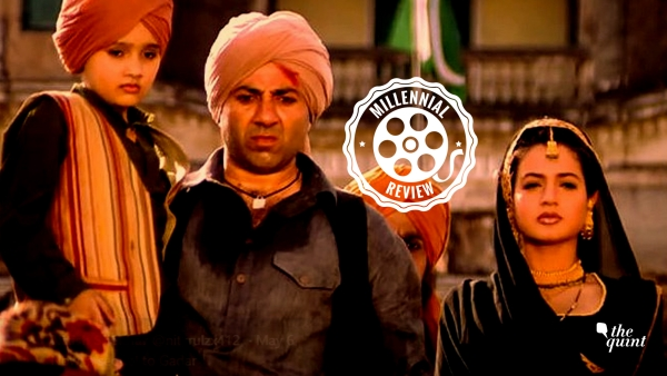 <i>Gadar</i> is a love story of a Sikh truck driver Tara Singh (Sunny Deol) and Sakeena (Ameesha Patel).