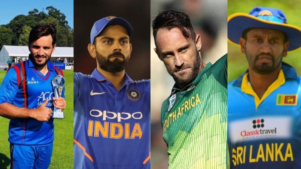Gulbadin Naib, Virat Kohli, Faf du Plessis and Dimuth Karunaratne will be gunning to reach the 2019 ICC World Cup final on 14 July, 2019.