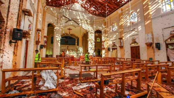 Nearly 300 people were killed and hundreds more hospitalised in eight blasts in Sri Lanka on Easter.