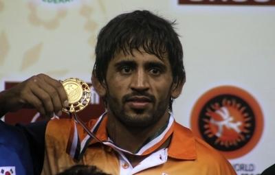 Bajrang Punia bags gold at Ali Aliev tournament