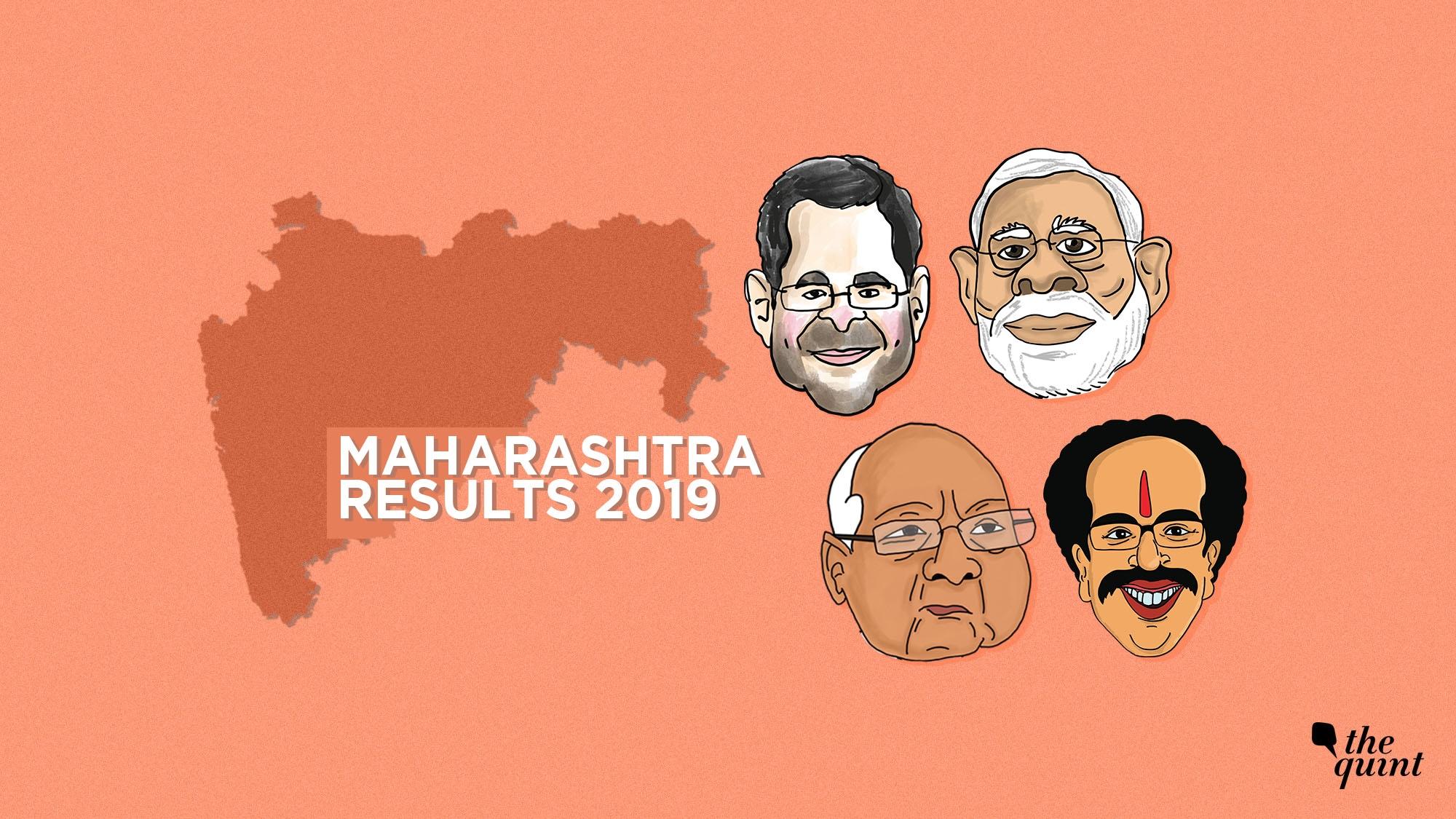 Maharashtra Polls: BJP+ Lead in 44 Seats, Gadkari Lead in Nagpur