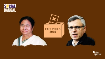 Mamata Banerjee and Omar Abdullah tweeted about the Exit Polls.